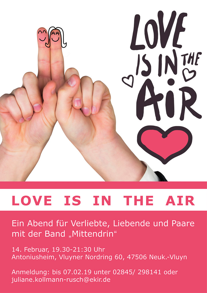 Plakat Love is in the air